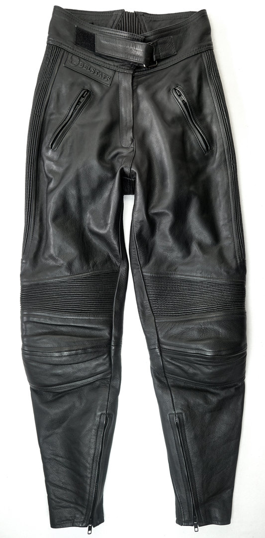 belstaff damen motorrad lederhose gr 38 m springfellows. Black Bedroom Furniture Sets. Home Design Ideas