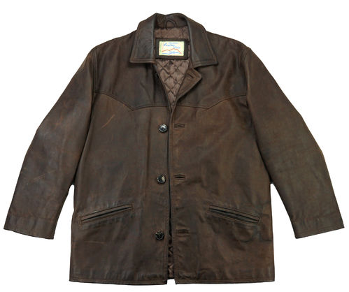 LEATHER VIEW Coat 52 L