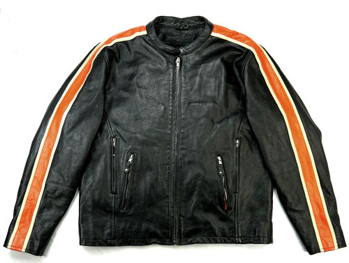 HOT LEATHER Cafe Racer 58 XL-XXL