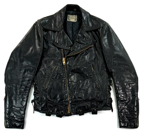 LEATHER FOREVER Perfecto Pferdeleder 46 S-M